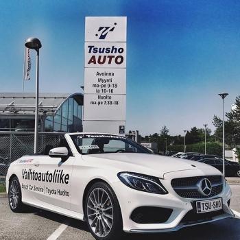 @tsushoauto: Huomenna taas TsushoAUTOn POP UP Isossa Omenassa ✨ Nähdään siellä!  #ttnordic#tsushoauto#isoomena#avoauto#autoliike#espoo#carsoffinland#mercedesbenz#mercedesbenzcabriolet