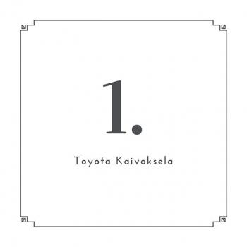 @toyotakaivoksela: LUUKKU 1.  Toyota Kaivokselan joulunkalenterin ensimmäinen luukku aukeaa ✨  #ttnordic#toyotakaivoksela#joulukalenteri#joulukalenteri2019