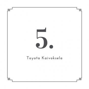 @toyotakaivoksela: LUUKKU 5.  Viidennen luukun takaa paljastuu video, jossa tutustumme Toyota Kaivokselan rengashotelliin. ✨  #ttnordic #toyotakaivoksela #joulukalenteri2019 #joulukalenteri